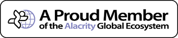 A proud member of the Alacrity Global ecosystem